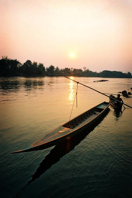 Don Det, Laos, 2003