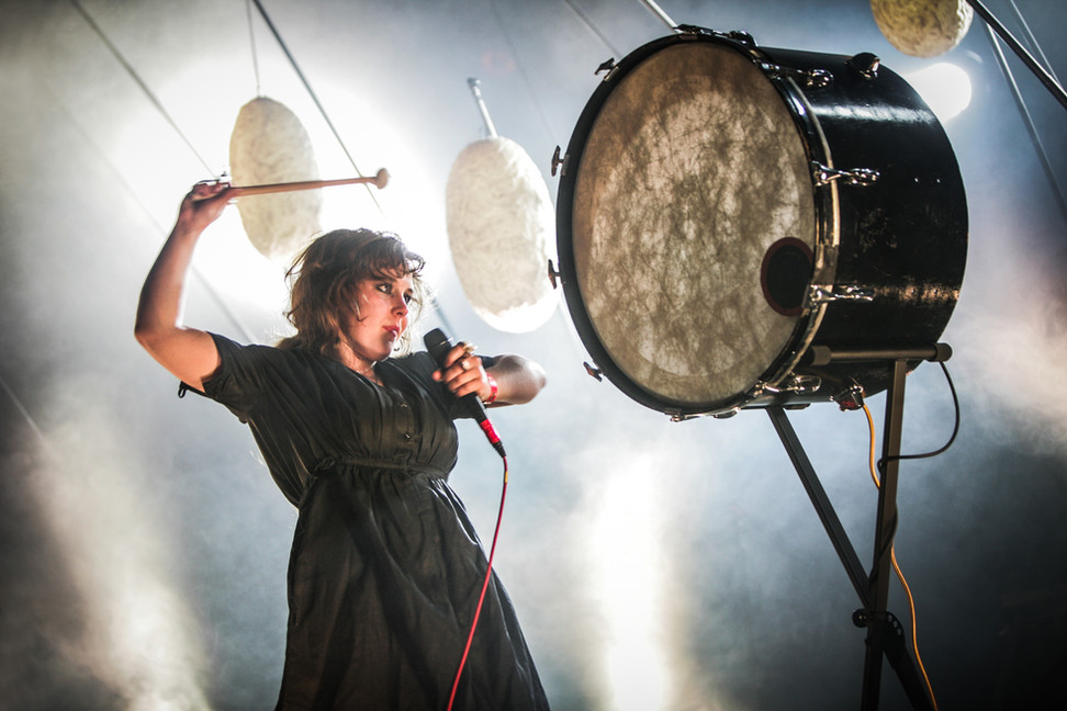 Purity Ring, Los Angeles, 2013