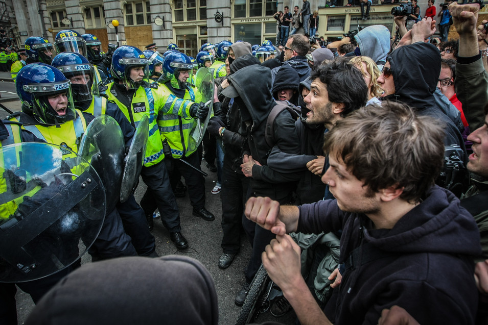 G20 Protests, London, April 01, 2009
