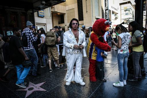 Hollywood Blvd, Los Angeles, 2013