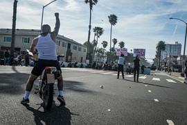 Santa Monica Riots, Los Angeles, 2020