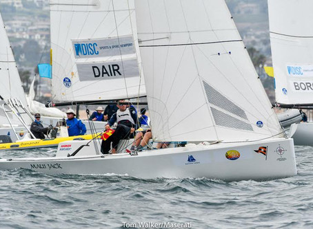 Day 2: Takahashi (NZL) now alone on top, as Frank Dair (USA) moves up to second