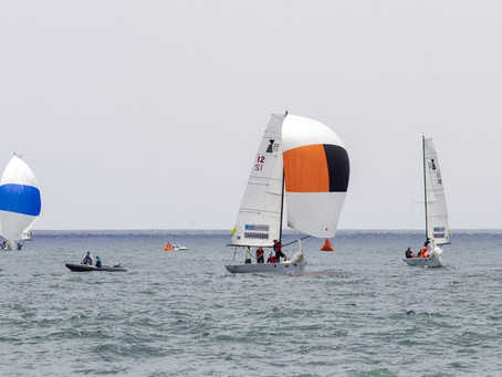 Leonard Takahashi, Finn Tapper lead fleet on first day of Governor's Cup