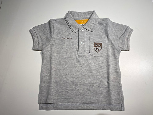 New Clarence School Short Sleeve Polo