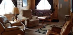 Year-around rental cabin on Side Lak