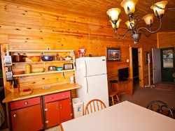 Cabin 3 large and inviting kitchen