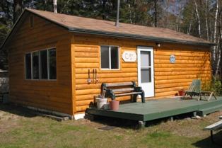 Cabin 6 waterfront 2 bedroom rental