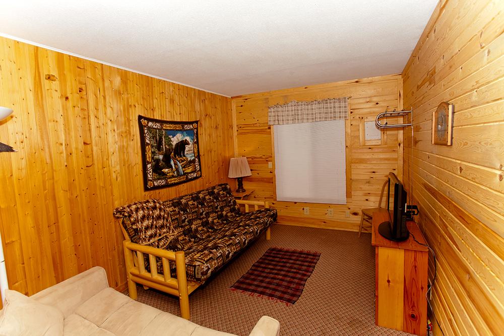 Cabin 6 sitting room/bedroom