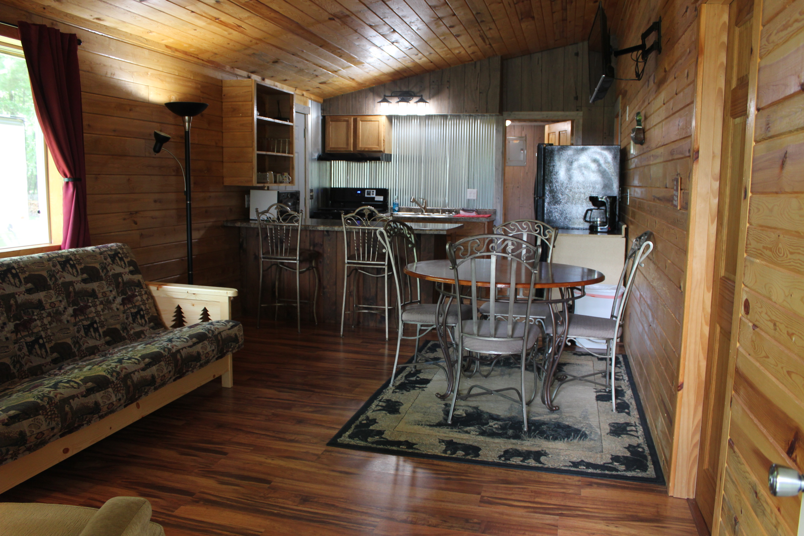 Cabin 1 living space