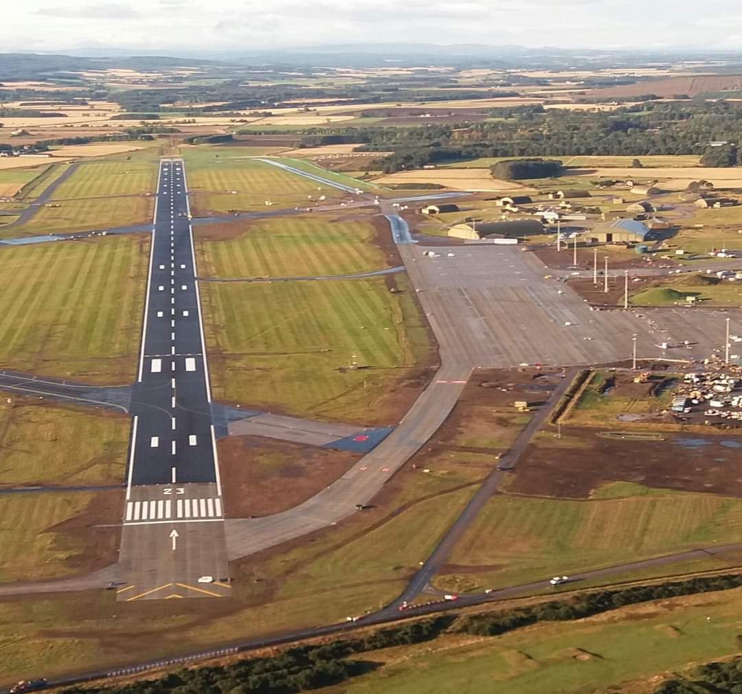 RAF Lossiemouth - Surfacing/Runway Upgrades