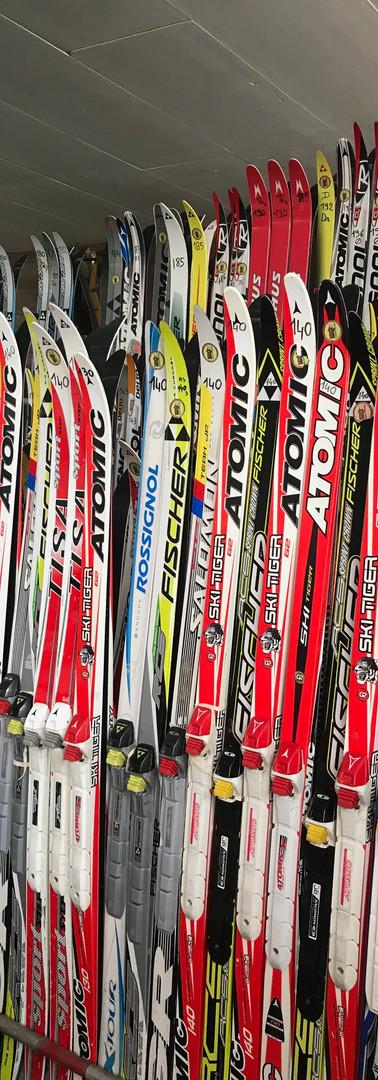 Location de ski sur place