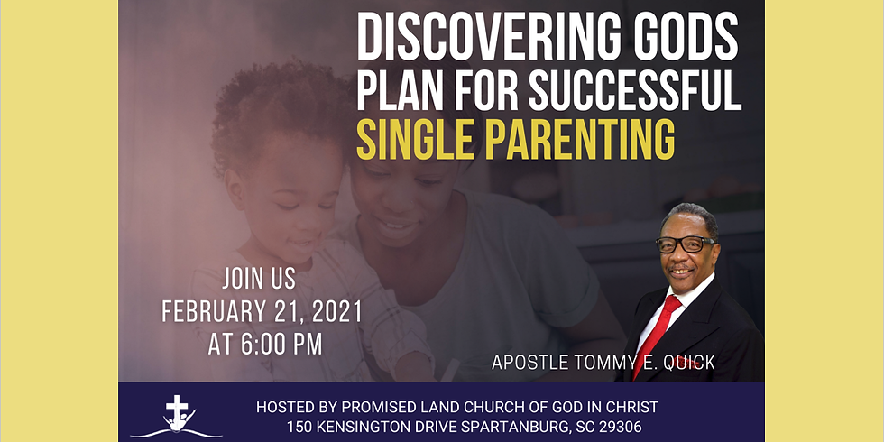 Discovering God's Plan for Successful Single Parenting