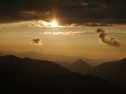 Riedbergerhorn Sonnenuntergang