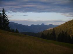 Anreise über Riedbergpass