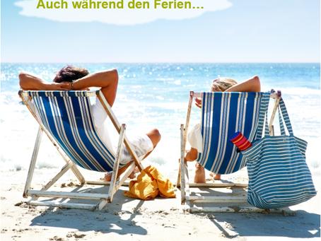 Sommer- und Ferienzeit