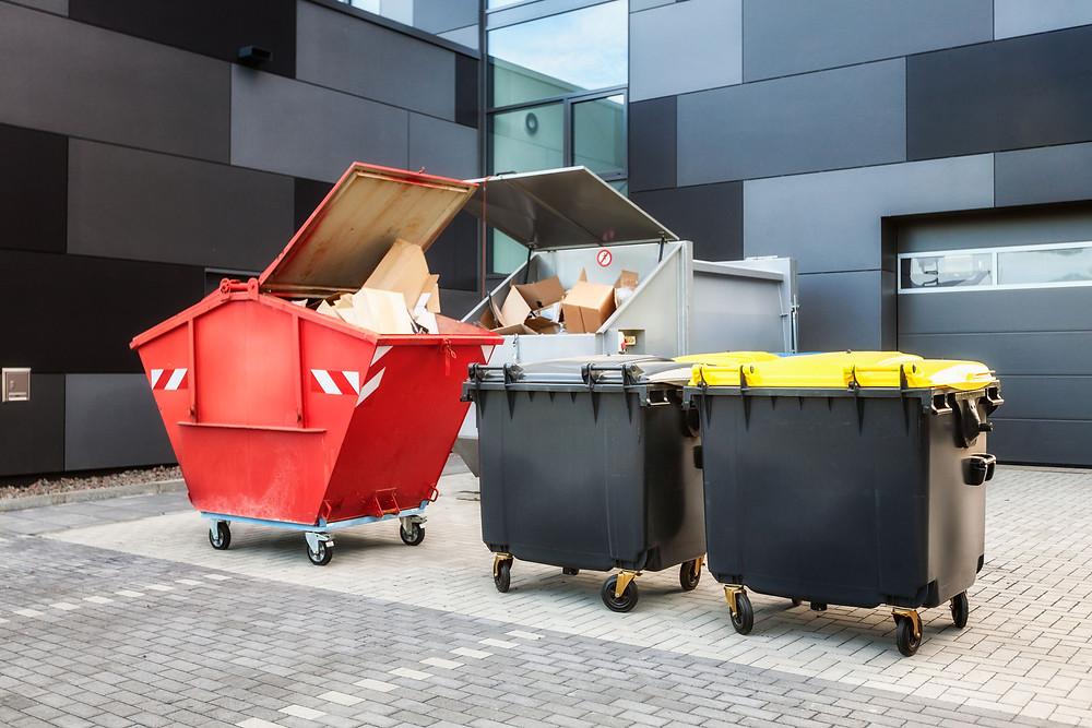 Abfallbehälter für Industrie und Gewerbe