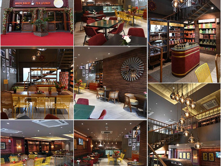 Wagh Bakri Tea Lounge.