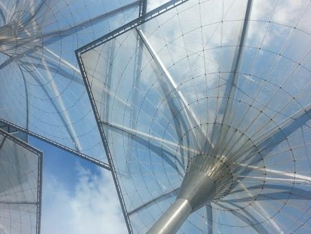 Plexiglass in architecture.
