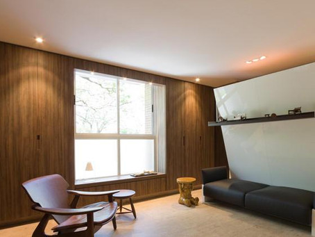 Furniture design in compact apartments.
