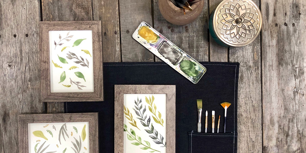 Fall Botanicals: A Watercolor Workshop