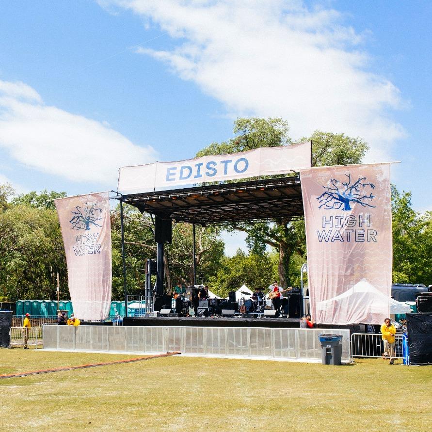 High Water Festival Edisto Stage