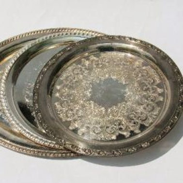 Vintage Silver Trays
