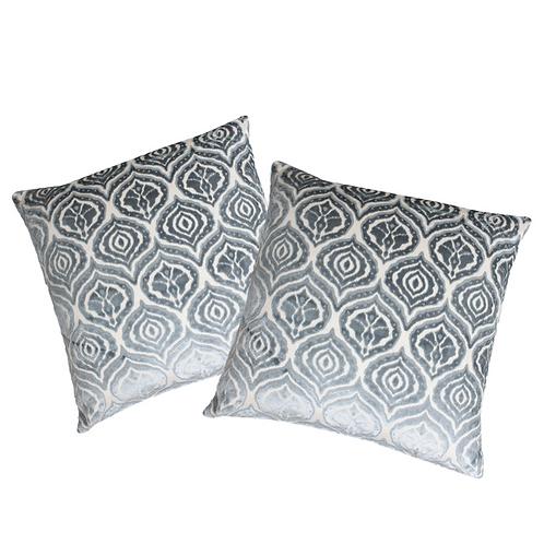 BLUE IKAT Pillows