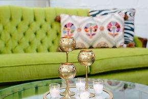 Boho furniture and decor