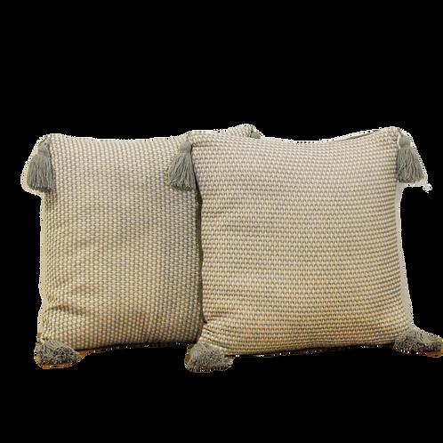 GREY TASSEL Pillows