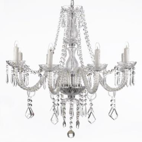 Crystal Chandelier (8 Arm)