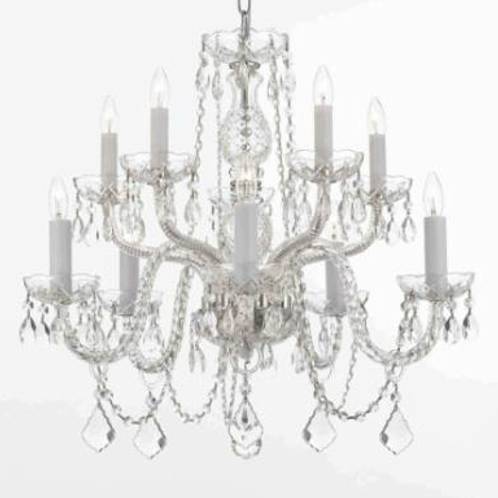 Crystal Chandelier (12 Arm)