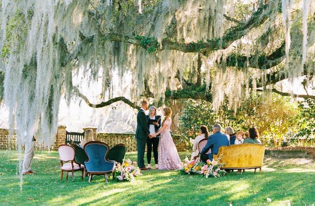 Micro Wedding Middleton Plantation Charl