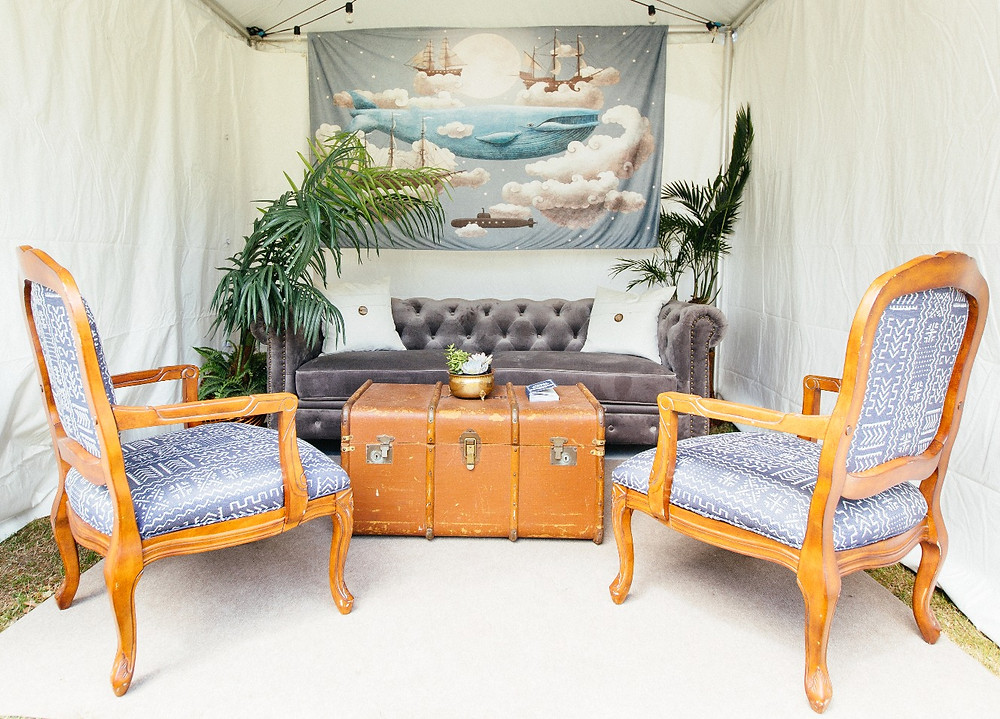 High Water Festival Artist Lounge - Vintage Specialty Rentals