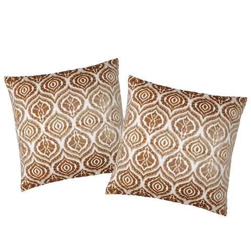 GOLD IKAT Pillows