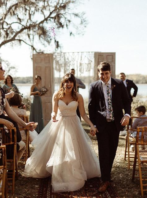 Payton & Julia's Intimate Backyard Wedding