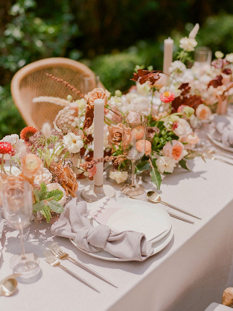 Whimsy Rose Clay Courtyard Wedding