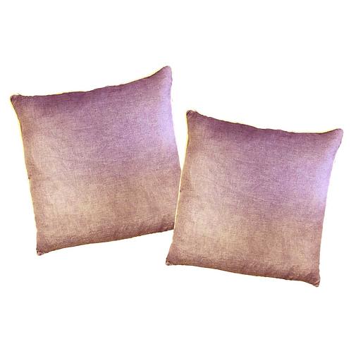 LAVENDER LINEN Pillows