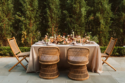 Intimage prive dining tablescape_rattan