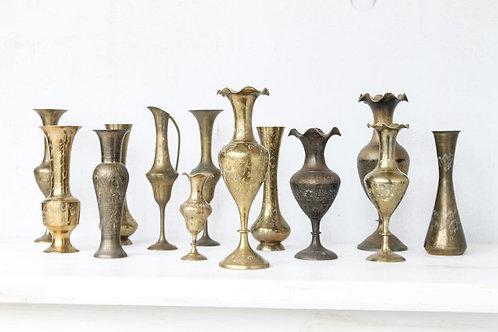 Vintage Brass Vessels