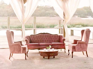 Dusty Rose Vintage Sofa_Boone Hall Cotto