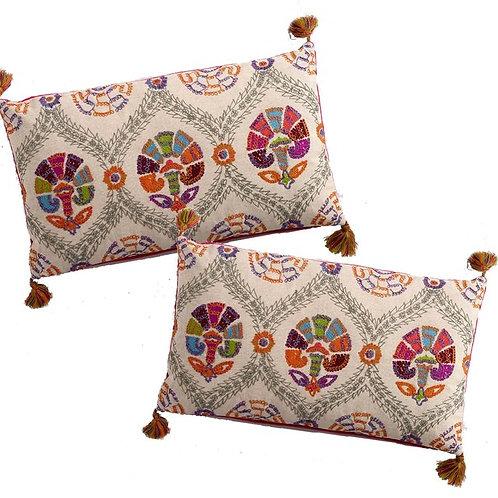 DELHI Suzani Pillows