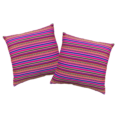 PINK PERUVIAN Pillows
