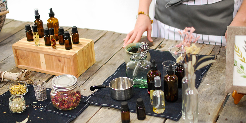 Essential Oil Gift Making