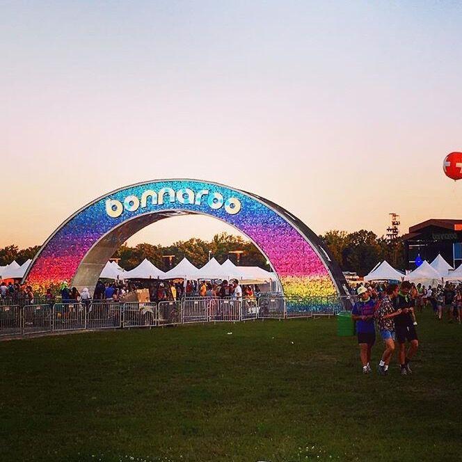 Bonnaroo Music Festival Archway