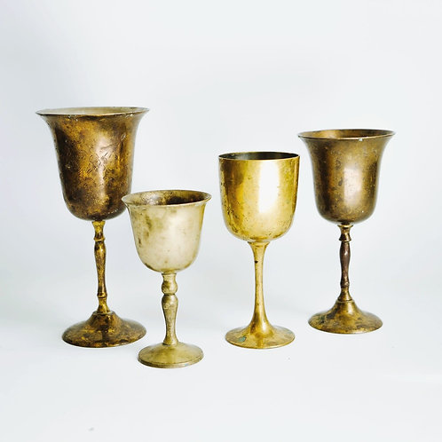 Vintage Patina Cups
