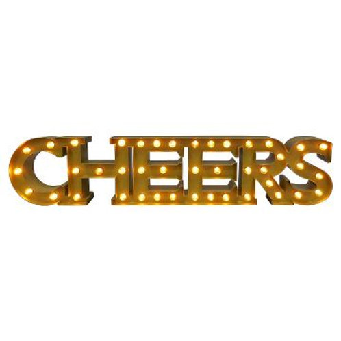 CHEERS Marquee Sign