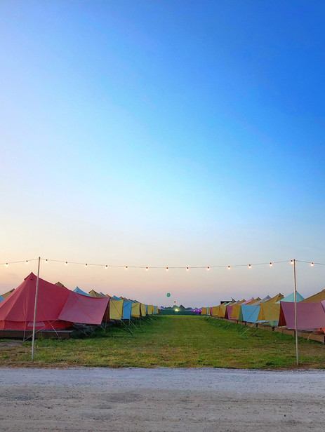 The Bonnaroo Scene & Tipi Dreams
