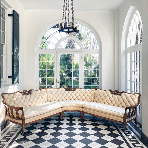 Sofas | Event Rentals | The French Eclectic | Charleston SC