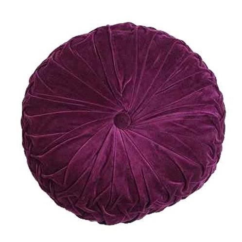 Purple Pintuck Cushions