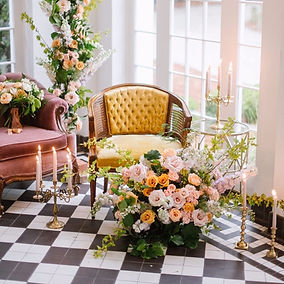 Romantic Wedding At Lowdes Grove_The French Eclectic VintageRentals
